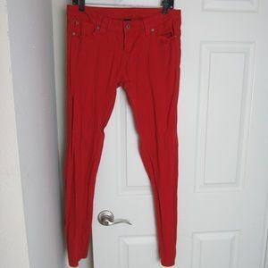 Red Asphalt Jeans Size 11